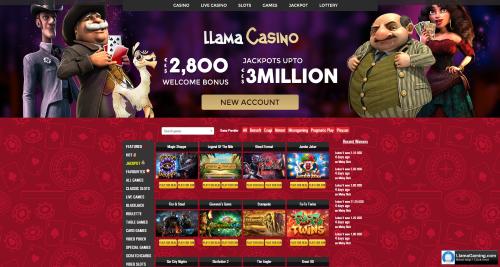 Llama homepage