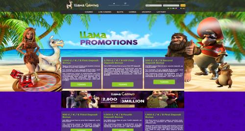 Llama Promo Page