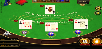 LuckyVegas Blackjack Casino Games