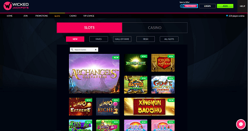 Wicked Jackpots New Games