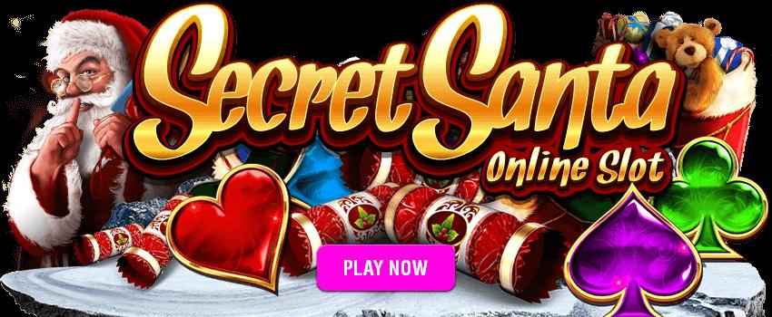 Secret Santa Banner