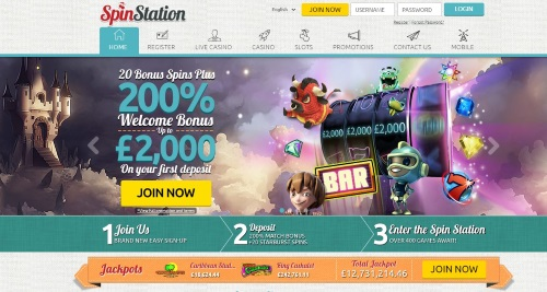 Spin Station HomePage
