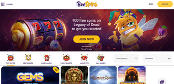 Bee Spins Promotions Home Page