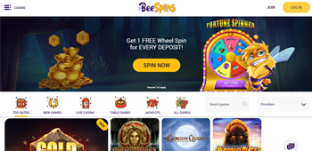 Bee Spins Casino Slots
