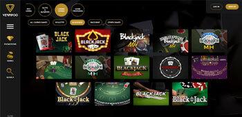 Vegasoo blackjack tables