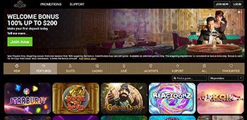 Royal House Casino welcome bonus