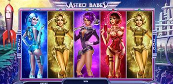 Casino Las Vegas Astro Babes inplay
