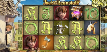 Jack and the beanstalk in play