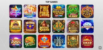 Zodiac Casino Screenshot 2