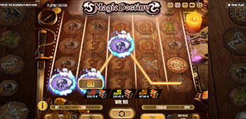 Sin Spins Casino magic destiny slot inplay