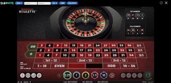 Slotnite Roulette Table