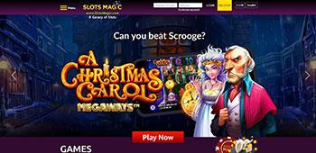 Slots Magic Casino homepage
