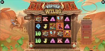 SpinStation Casino western wilds slot inplay