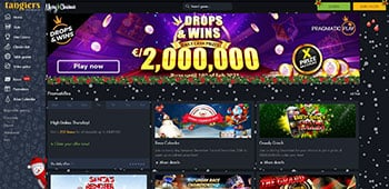Tangiers Casino promotion page