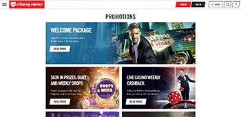 Vegas Hero Casino promotion page