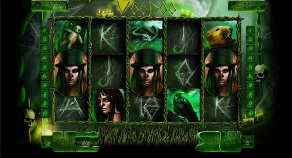 Voodoo Online Pokies Game