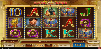 Wildz Casino Book or Dead Slot
