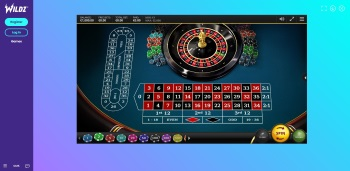 Wildz Casino Roulette Table