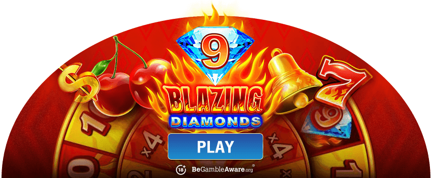 9 Blazing Diamonds Banner