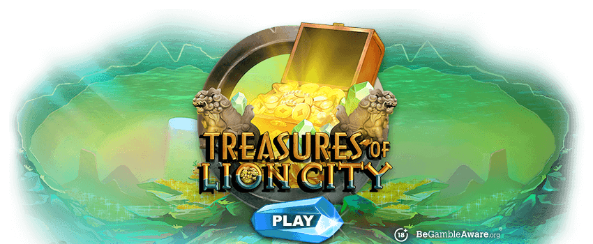 Treasures of Lion City Banner