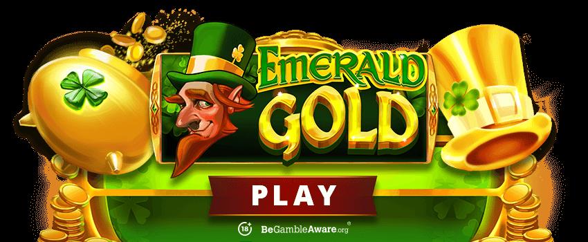 Emerald Gold Banner