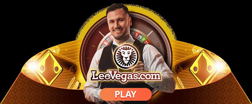 Leo Vegas Live Dealer Banner