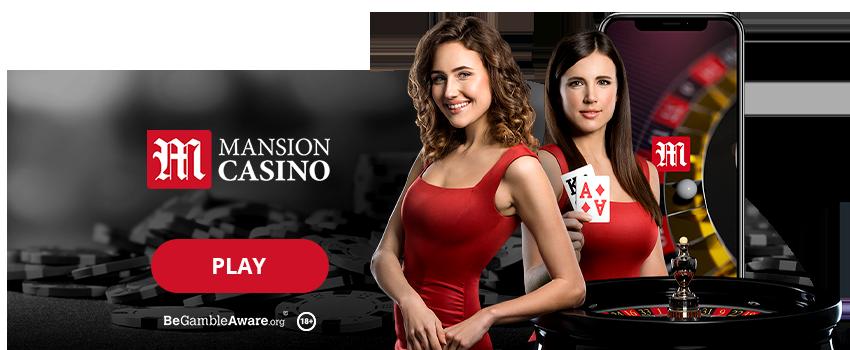 Mansion Casino Banner
