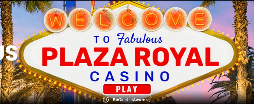 Plaza Royal Casino Banner