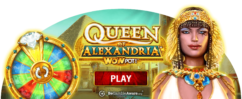 Queen of Alexandria WowPot Banner