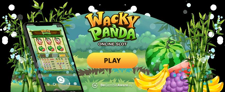wacky Panda banner