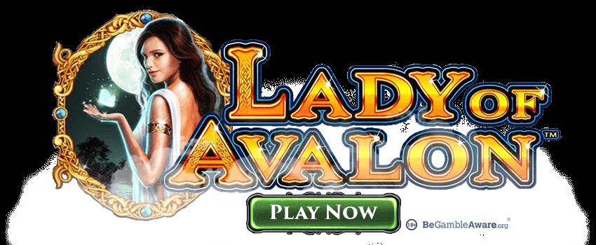 Lady of Avalon Pokies