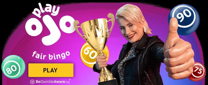 PlayOjo Bingo Banner
