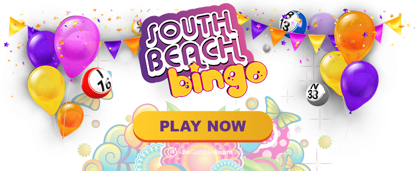 South Beach Bingo Banner