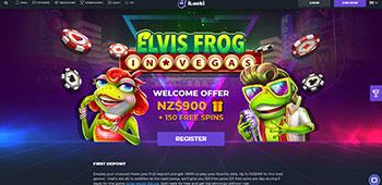 iLucki Casino homepage