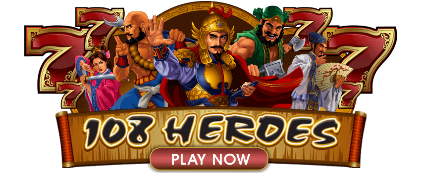 108 Heroes Multiplier Fortunes Banner
