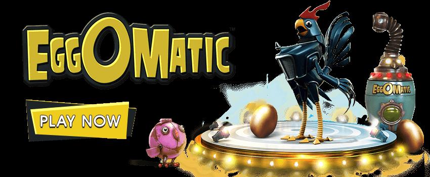 Egg Omatic Banner