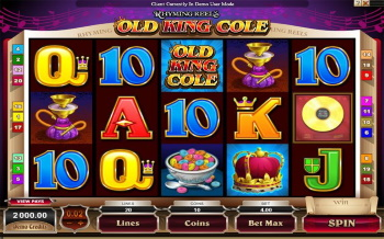 Old King cole in play