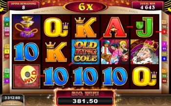 Old king cole bonus round