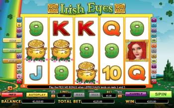 irish eyes bonus round
