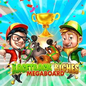 Racetrack Riches Megaboard Pokie