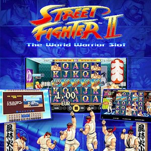 NetEnt Pulls Street Fighter II Pokie