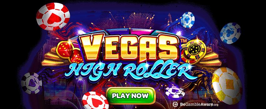 Vegas High Roller Banner