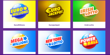 Lottery section